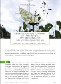 De Voghel et al 2014 Les essences forestières secondaires des lisières