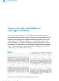 Godeau et Lesigne 2018 Gestion favorable à la biodiversité sous les ligne
